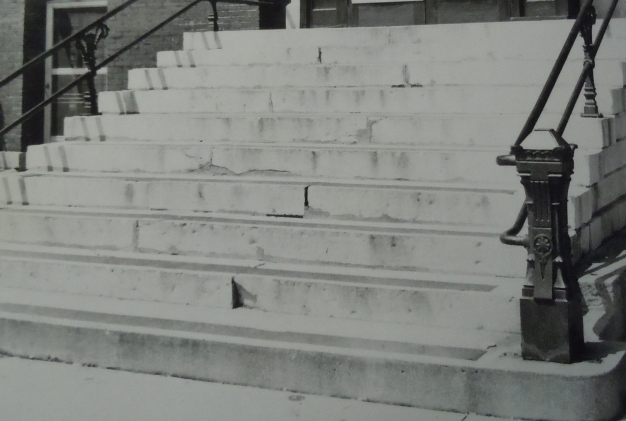 006 limestone steps   1960s