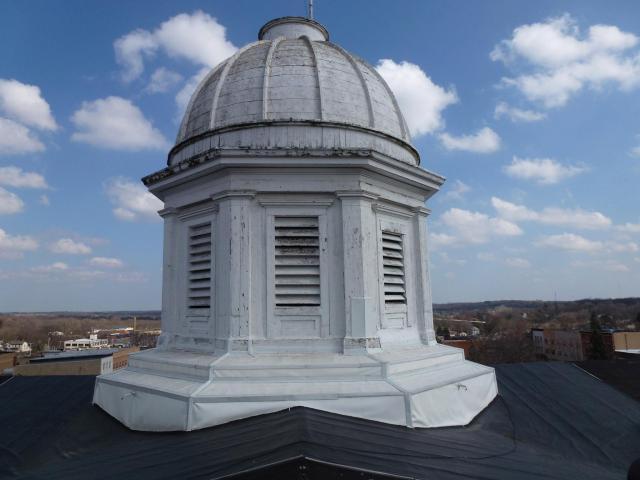 Cuploa & Dome before restoration