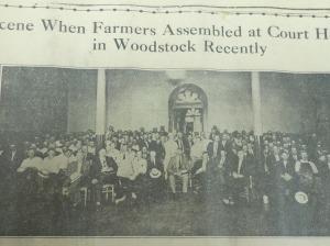 Farmers assemble 1932
